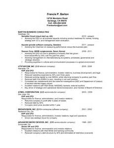 Cfo Resume Sle 100 cfo sle resume 100 images 100 resume server
