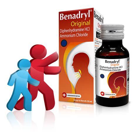 Obat Batuk Benadryl benadryl 174 original