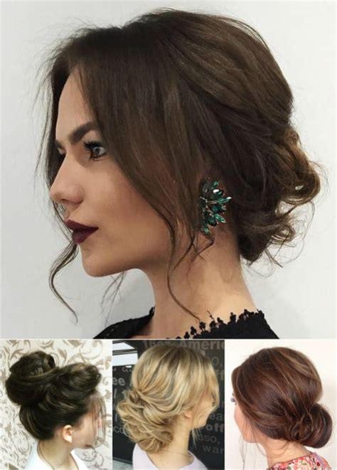 simple buns for medium length hair girls fashion 54 easy updo hairstyles for medium length hair in 2017