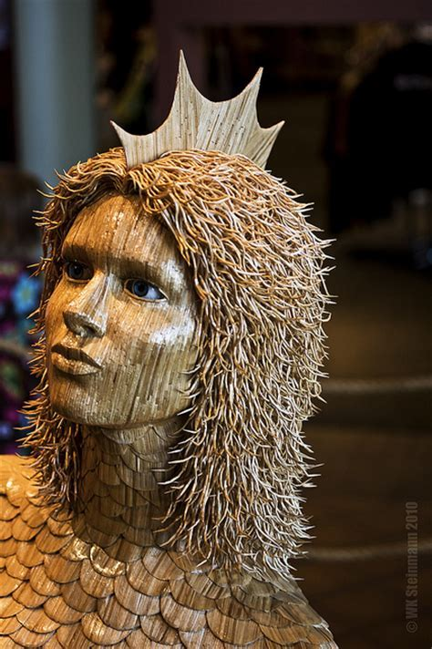Sarcasms: Creative Toothpick Art Sculptures (10 Pictures)