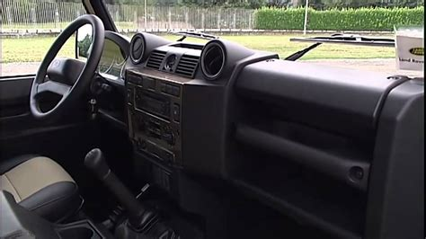 land rover 110 interior 2012 land rover defender interior youtube