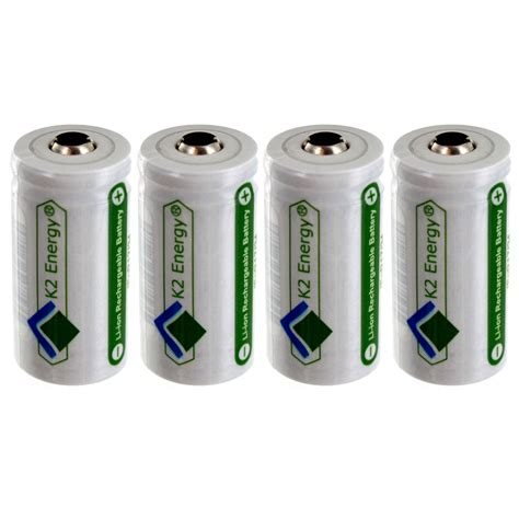 best rechargeable cr123a lithium batteries 4pc 3 2v rechargeable li ion cr123 replacement batteries