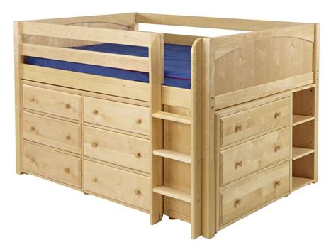 full size low loft bed low full size bed