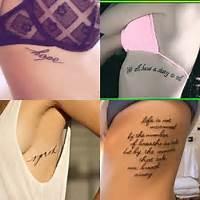 Mais Tattoos Tatuagem De Caveira Delicada Na Costela Beija