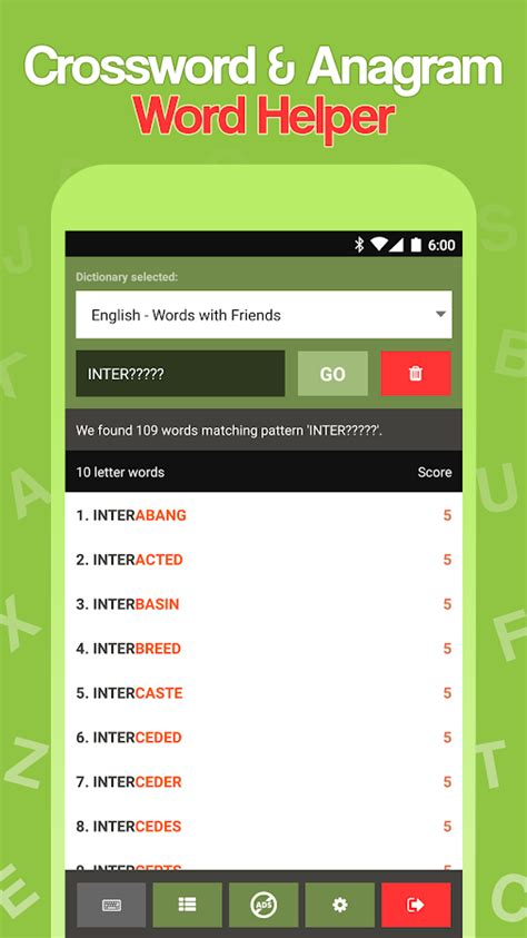 Scrabble Cheat – Word Helper - Android Apps on Google Play Words With Friends Cheat List