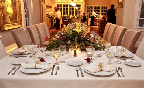 ideas for a dinner party at home formal dinner table setting ideas indelink com