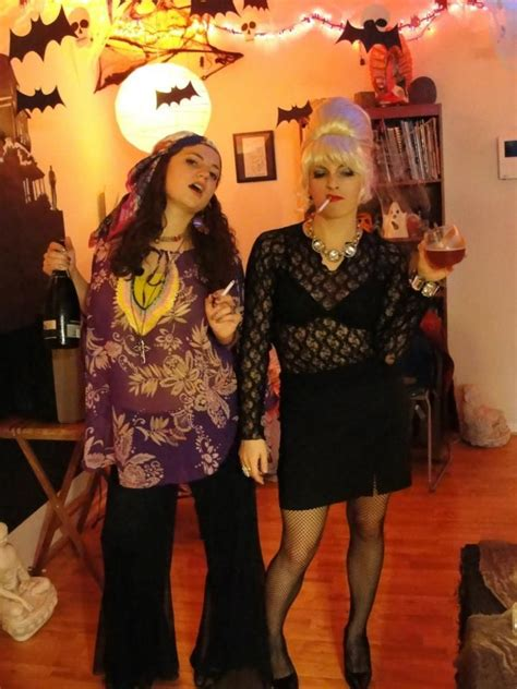 Absolutely Fabulous Fabsugar Want Need 52 by Patsy And Edina Costumes Search Costume Ideas