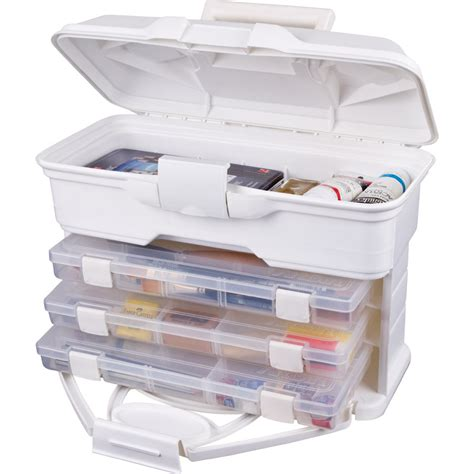 artbin solutions storage cabinet 30 drawer white