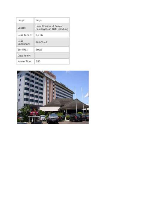 Jual Starbio Plus Di Bandung jual hotel di bandung