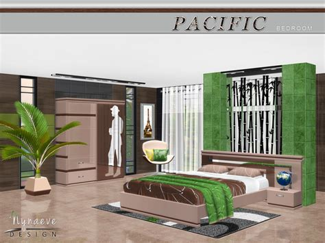 pacific bedroom furniture pacific heights bedroom by nynaevedesign at tsr 187 sims 4 updates