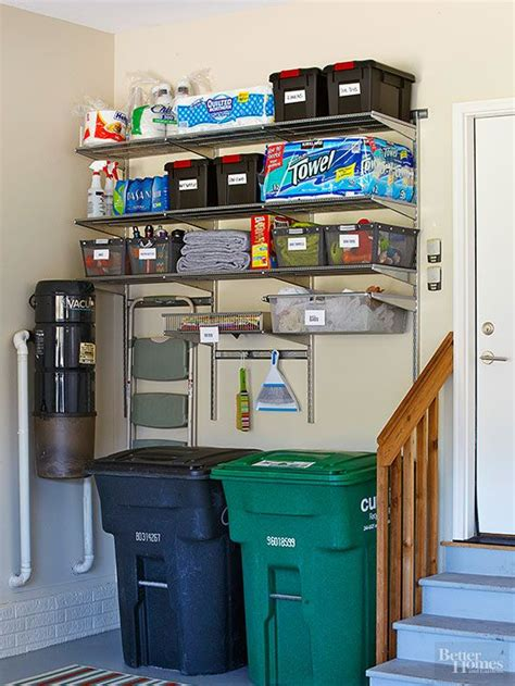 practical  comfortable garage organization ideas
