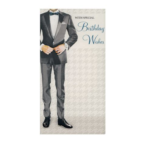 Gift Cards For Guys - stylish mens birthday card bc04 stylish gifts