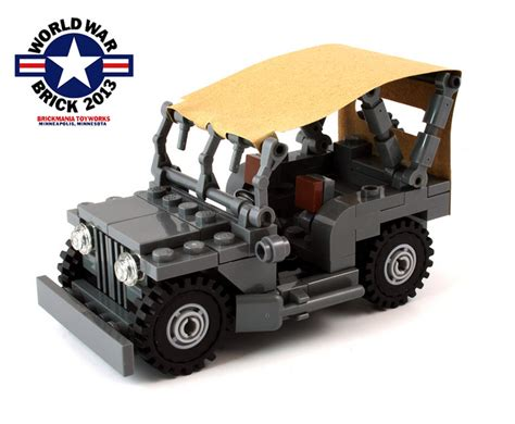 brickmania jeep brickmania to release exclusive jeep kit for war