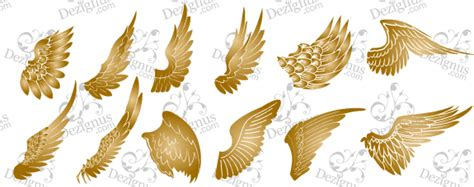 free vector wings vector image 365psd com