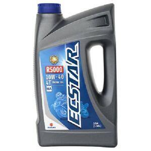 suzuki ecstar  mineral motorcycle engine oil