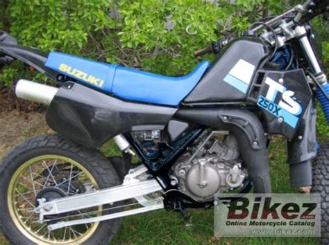 Suzuki Ts250x For Sale 1988 Suzuki Ts 250 X Specifications And Pictures