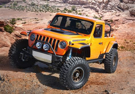 jeep unveils seven new jeep unveils seven new concepts for the easter jeep safari