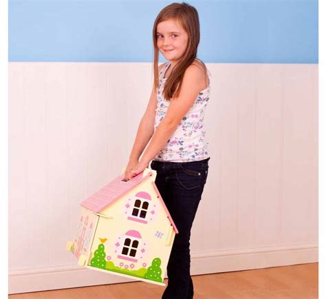 bigjigs dolls house furniture bigjigs blossom cottage dolls house