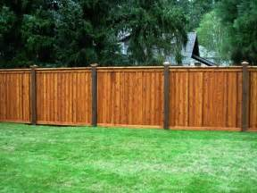 wood fence ideas for backyard 9 best images about backyard fence ideas on