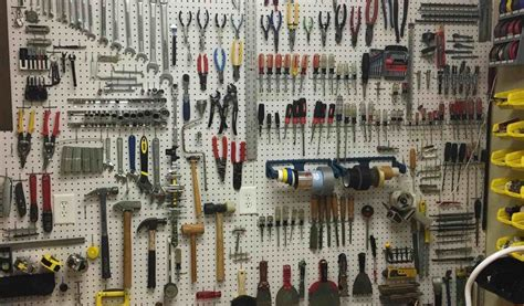 tool organization ideas pegboard archdsgn