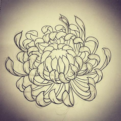 chrysanthemum flower tattoo designs 25 best ideas about japanese flower on