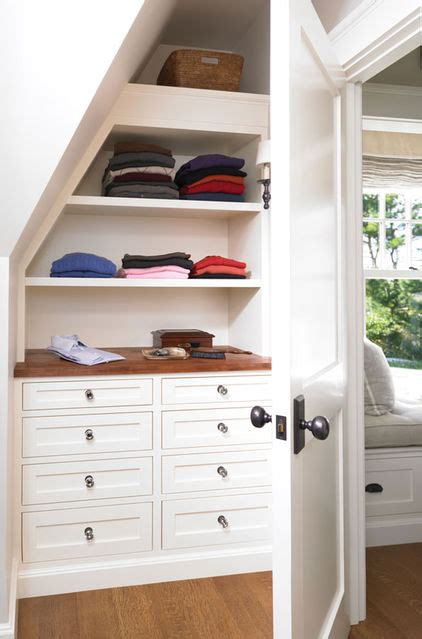 Building Drawers Into A Wall by Building In Drawers The Eaves Or In A Knee Wall
