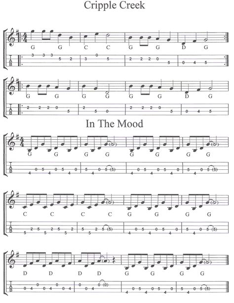 rose tattoo mandolin tab banjo tablature for cripple creek 187 sheets chords