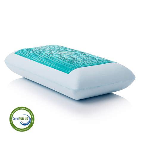 Memory Foam Mattress Heat by Gel Infused Memory Dough With Liquid Z Gel Pillow By Malouf