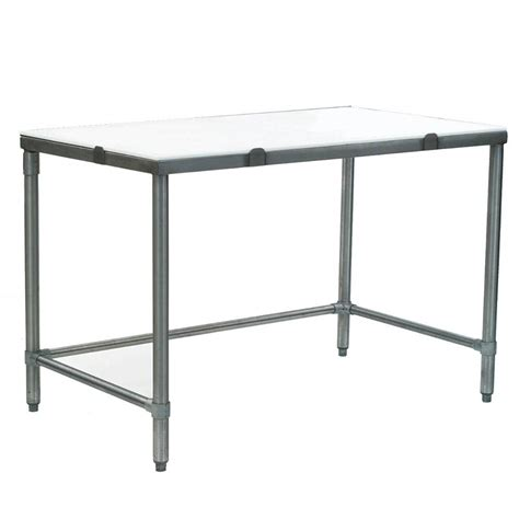 Table Cut by Eagle Ct3060s 30 Quot X 60 Quot Poly Top Stainless Steel