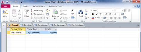 tutorial lengkap delphi 2010 belajar query dengan perintah sql di microsoft access 2010