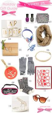 gifts for 25 holiday gift guide under 25