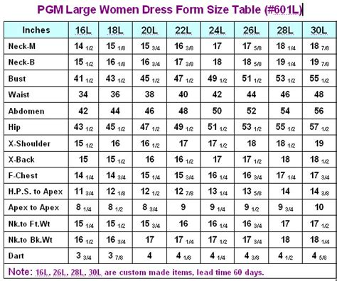 industry grade plus size dress form with hip 601l