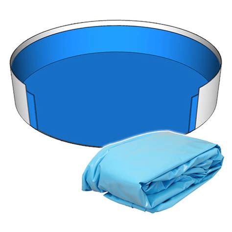 Pool 110 Cm poolfolie innenh 252 lle rund pool 460 x 110 cm 0 25 mm blau