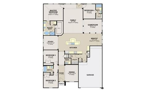 model home floor plans new ryland homes orlando floor plan new home plans design