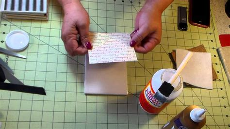 How To Make Coasters Out Of Tiles And Scrapbook Paper - how to make drink coasters out of tiles