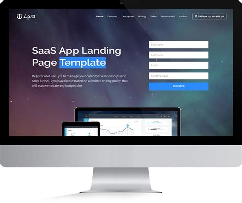 business landing page template vera business landing page template