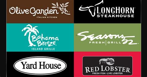 Yard House Gift Cards - darden restaurants 25 gift card giveaway joe