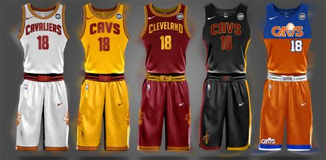 jersey design cavs look here s one potential design for the cavaliers new