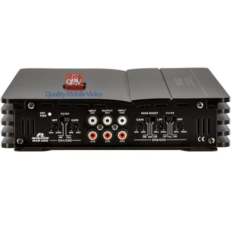 renegade rxa  watt max  channel amplifier