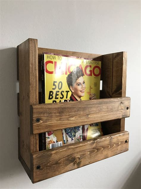 17 best ideas about rustic magazine racks on pinterest