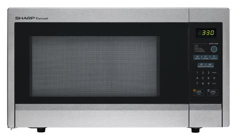Sharp Microwave R 21d0sin Hitamsilver sharp r 331zs 1 1 cu ft 1000w countertop microwave oven