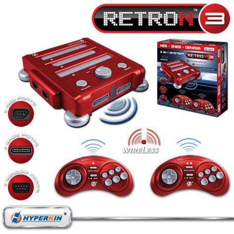 retro console three in one retro console uses original controllers