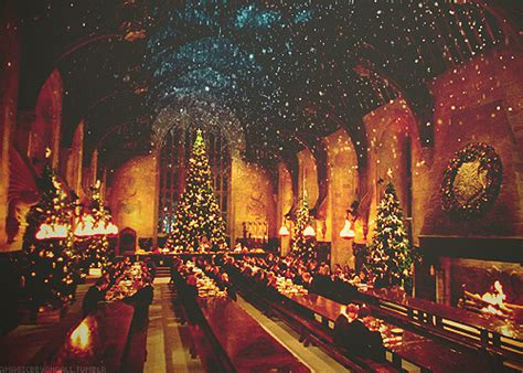 hogwarts christmas on Tumblr