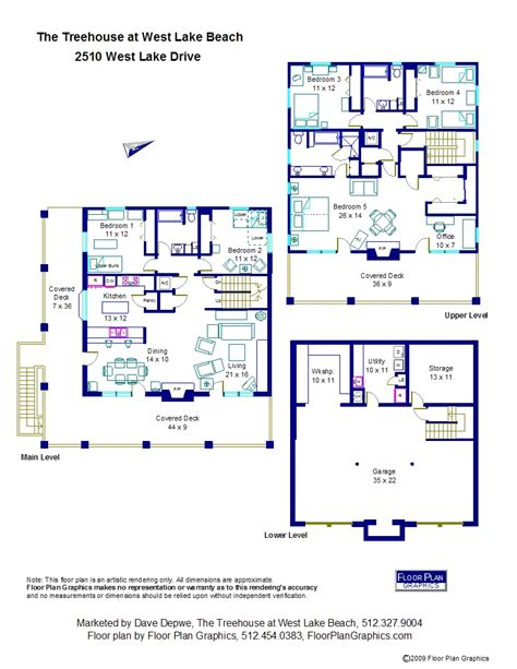 tree house floor plans west lake beach treehouse floor plan