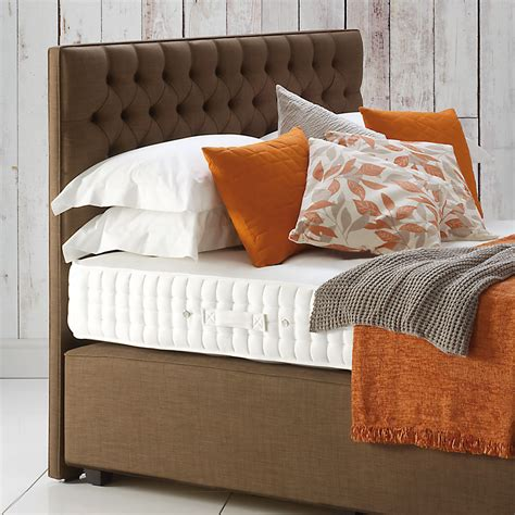 button upholstered headboard hypnos eleanor button upholstered headboard