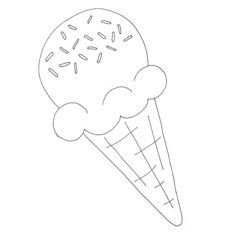 ice cream cup coloring pages ice cream cone coloring page wee folk art