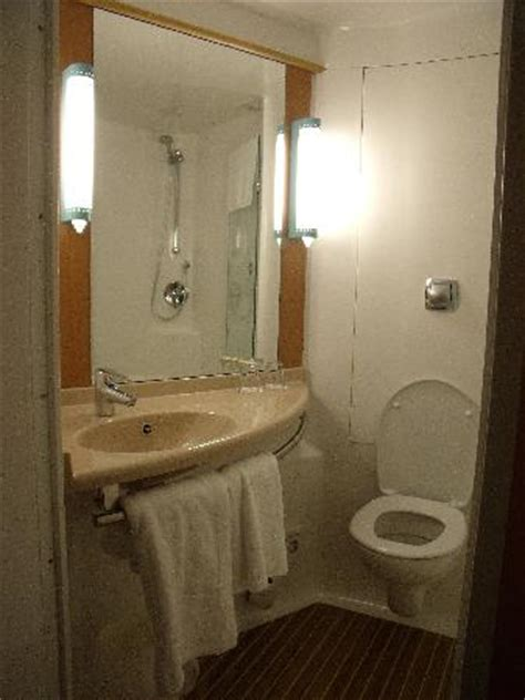 pod style bathroom bathroom from outside in room picture of ibis nottingham