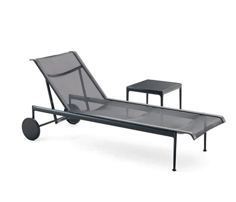chaise knoll 1966 adjustable chaise lounge black sun loungers from