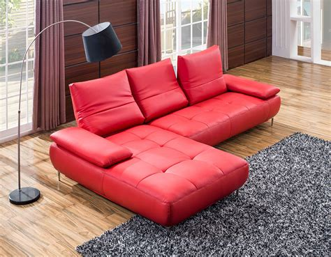 Contemporary Leather Sectional Sofas by 941 Contemporary Italian Leather Sectional Sofa