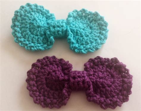 free crochet bow pattern indecisively chic crochet oval bow